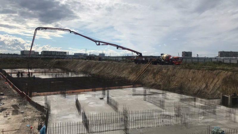 Застройщик лидер групп, жк Аэросити отгрузка бетона от БетоНИКА