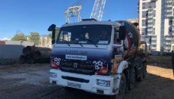 Поставка бетона в ЖК Северная Долина — застройщик Главстрой СПб