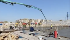 БетоНИКА производит поставку бетона для СКК «Петербургский»