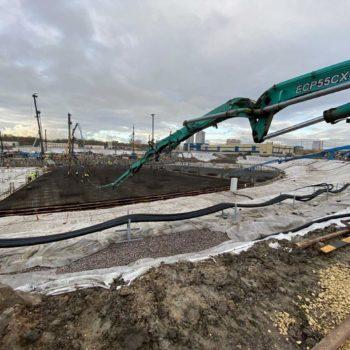 СКК спб заливка бетонной плиты БетоНИКА