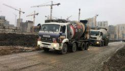 Поставка бетона для ЖК «Полис на Комендантском»