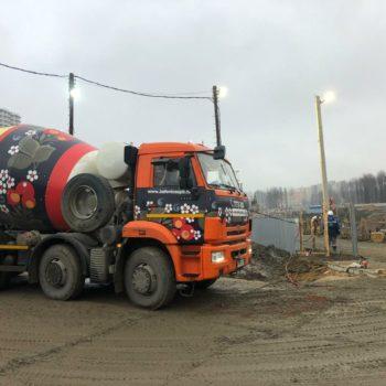 ЖК Полис на комендантском БетоНИКА поставка бетона
