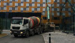 Поставка бетона на объект Hilton Saint Petersburg ExpoForum