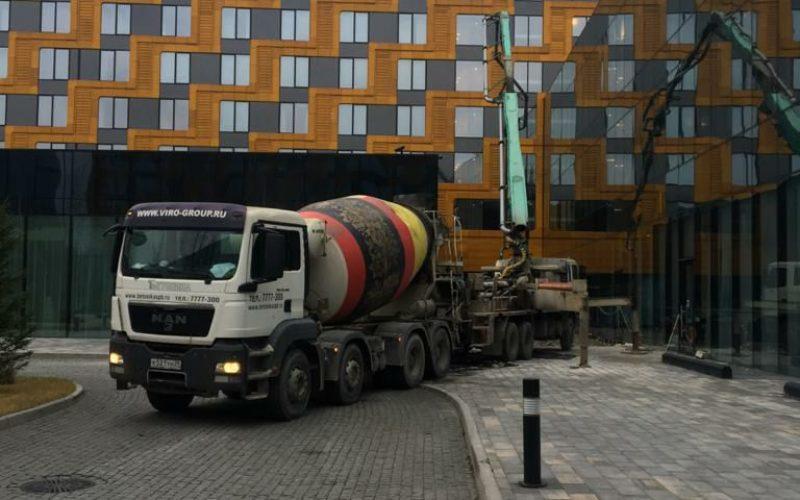 БетоНИКА поставка бетона для гостиницы Хилтон спб