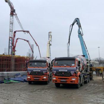 БетоНИКА поставка бетона СПБ — новые машины